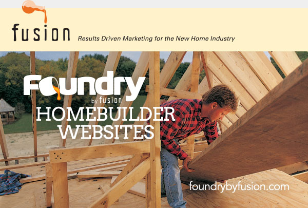 FUSION TEAM LAUNCHES FOUNDRY— WEBSITE CREATION FOR HOMEBUILDERS