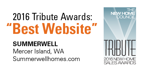 "2016 Tribute Awards ""Best Website"""